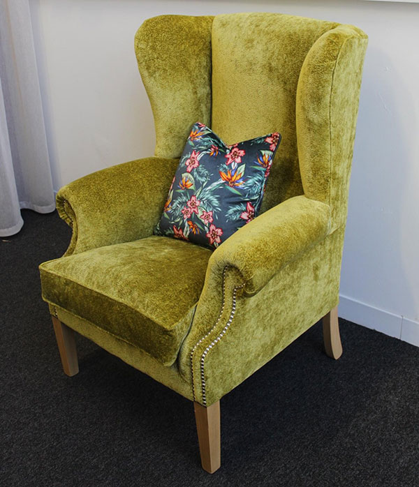 Victoria Gayle Interiors Claudia Wing Chair