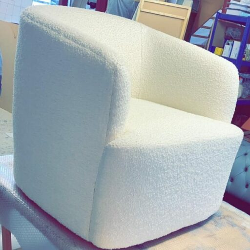 Victoria Gayle Interiors upholstery Lola Chair