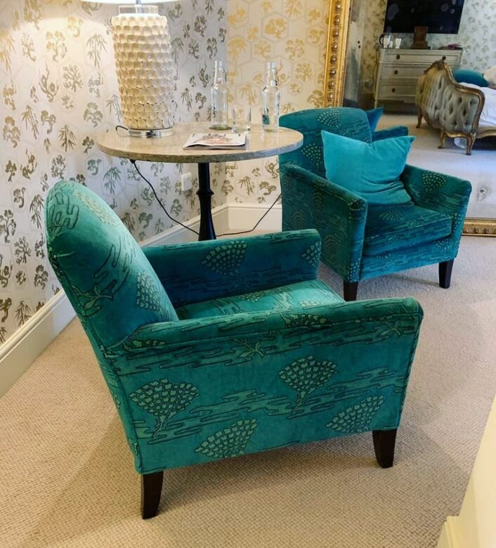 Victoria Gayle Interiors upholstery Katie Chair